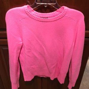 Jcrew pink sweater